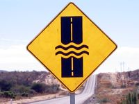 Water May Be Crossing the Road